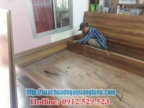 lắp đặt sửa chữa giưởng ngủ tại nhà