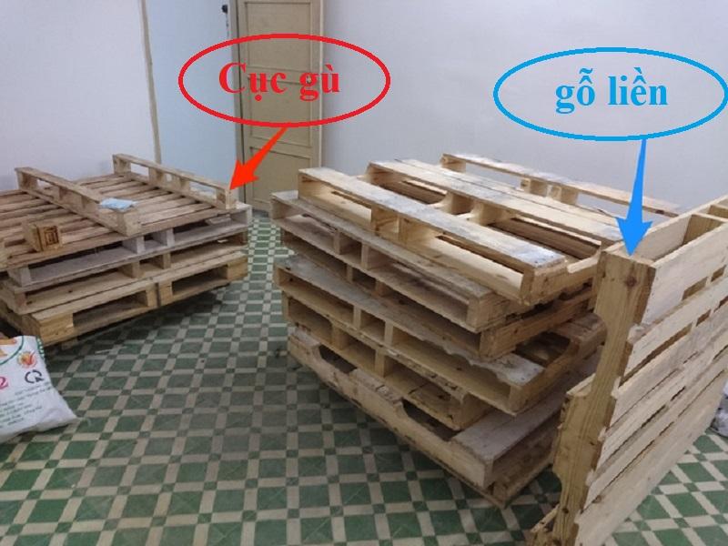 Cach mua gỗ Pallet để đóng đồ