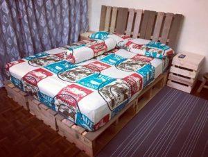giường pallet gỗ đẹp