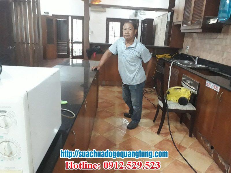 thợ mộc sửa chữa tủ bếp quận Tây Hồ