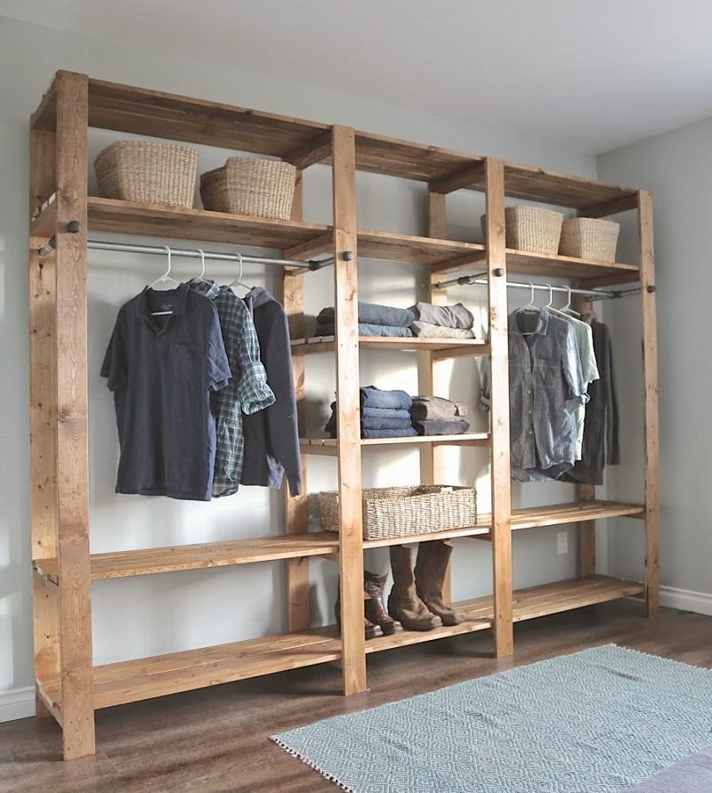 đóng tủ bằng gỗ pallet