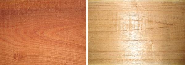 gỗ xoan đào và gỗ xoan ta