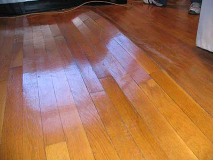 sàn gỗ bị hỏng