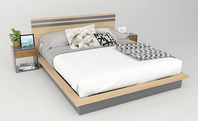 Giới thiệu về giường gỗ công nghiệp