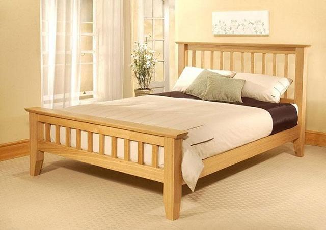 Giới thiệu về giường gỗ sồi